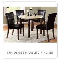COS-DENISE MARBLE DINING SET
